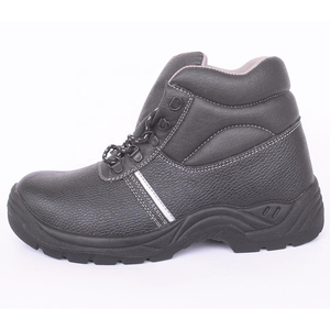 China Shandong Labor Insurance Shoes Safety Men's Boots Genuine Leather steel shoes
