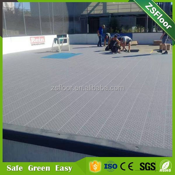 Sport court flooring roller skate equipment skating tiles