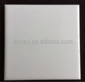 pure white ceramic wall tile 15x15
