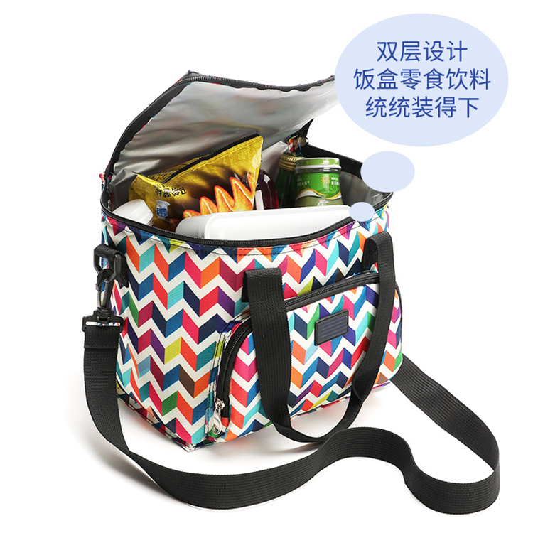 Osgoodway New Arrivals Wholesale Fashion Picnic BBQ Soft Insulated Aluminium Foil Cooler Bag for Outdoor