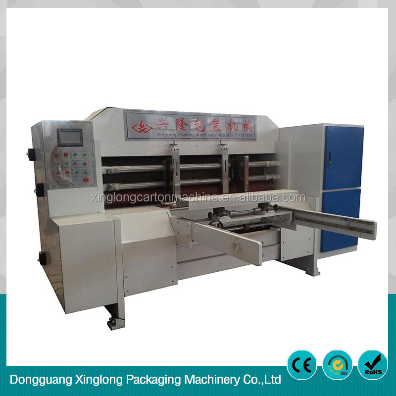 One year warranty automatic rotary die cutting machine
