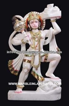 f3f9a191b57 Hanuman Ji White Marble Murti - Buy Marble Hanuman Murti ...