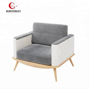 Single hotel sofa chair for reception room