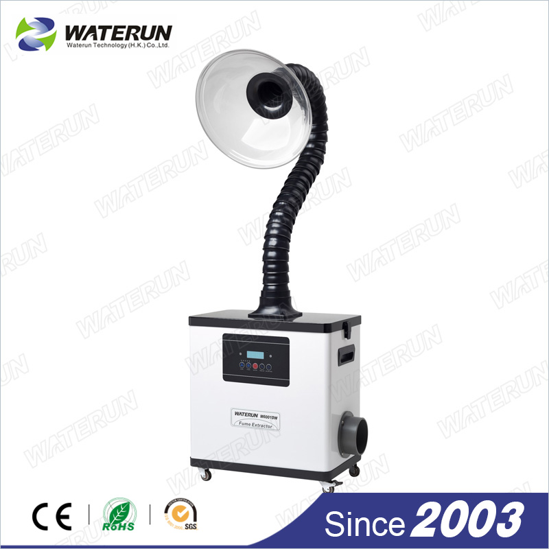 digital nail salon fume extractor, 80W fume extractor white color