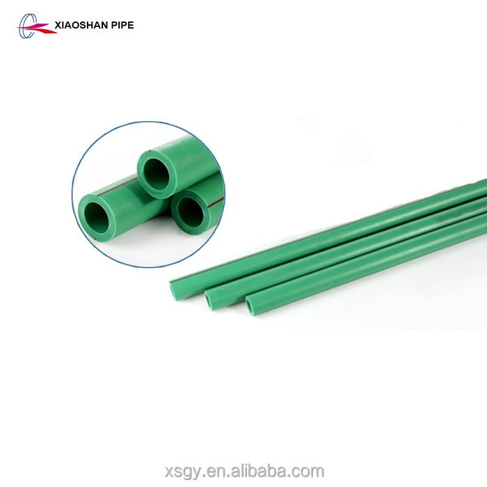 Water fluid piping system din standard small diameter 75mm ppr pipe