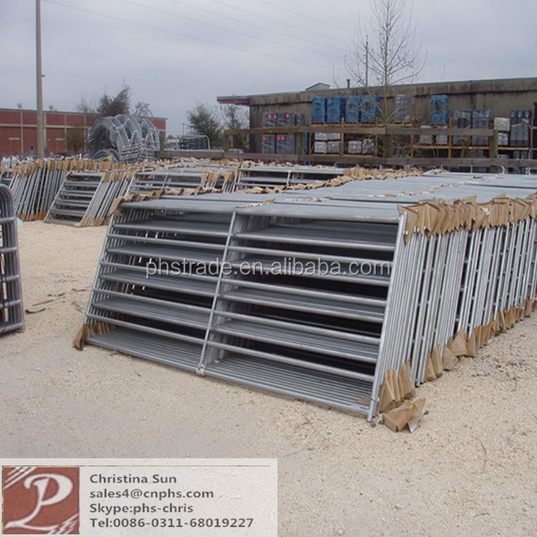 Portable Steel Fencing : Used portable livestock steel horse fence panel buy
