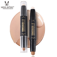 Professionele Waterdichte MISS ROSE <span class=keywords><strong>Concealer</strong></span> Geperst Poeder Natuurlijke Make-Up <span class=keywords><strong>concealer</strong></span> stick