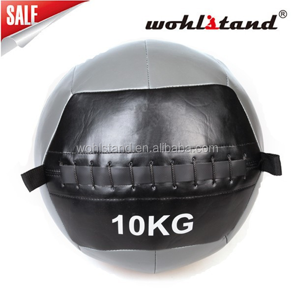 Soft GYM Medicine Balls filled with iron sand Wall ball