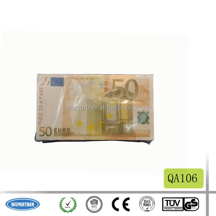 Euro 50 Gold Foil Bill Banknote gold plated