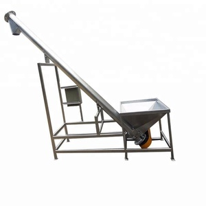 Factory Vibrating Hopper Inclined Screw Conveyor/Auger Feeding Machine