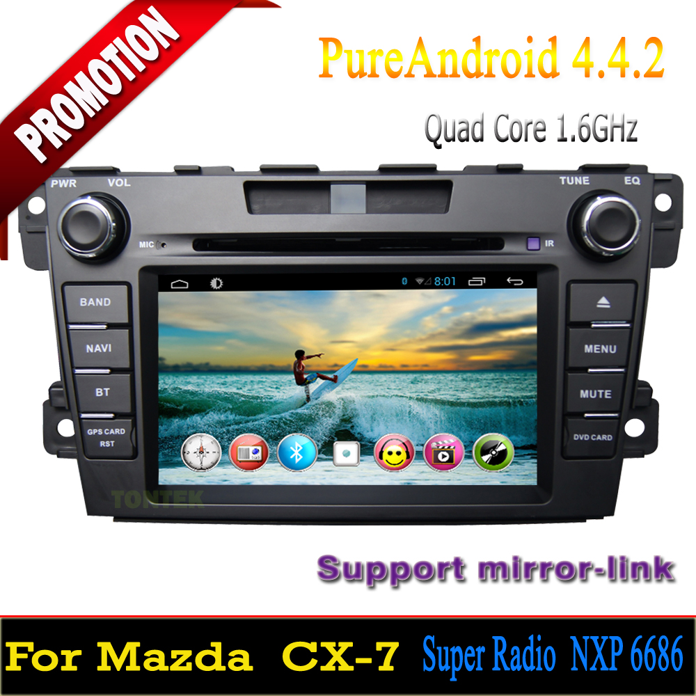 nouveau 2015 quad core android dvd de voiture mazda cx 7 avec gps wifi 3 g bt radio cfc dtv. Black Bedroom Furniture Sets. Home Design Ideas