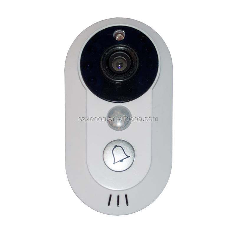 Home Security Wireless Wifi Video Door Phone real time watching and listening wifi doorbell