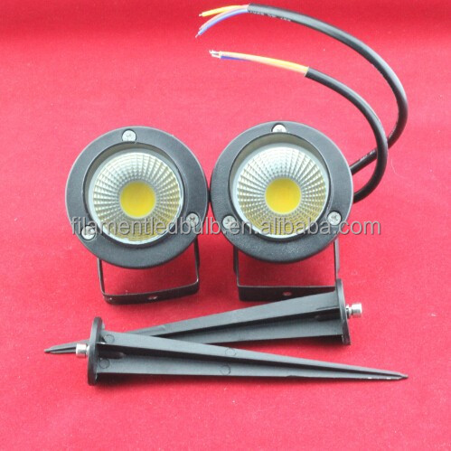 led garden light spike 5W,(WW/CW/R/G/B/Y),IP65 Outdoor Lamp High Quality led 500-550LM,2 Years Warranty,Ningbo Co-well