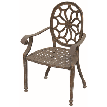 Wrought Iron Outdoor Furniture Cast