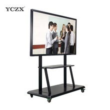 "75 ""YCZX IR touch <span class=keywords><strong>인터랙티브</strong></span> smart school/office/교실 보드 와 led touch panel"