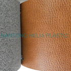 High quality PU Microfiber bonded Leather manufacture