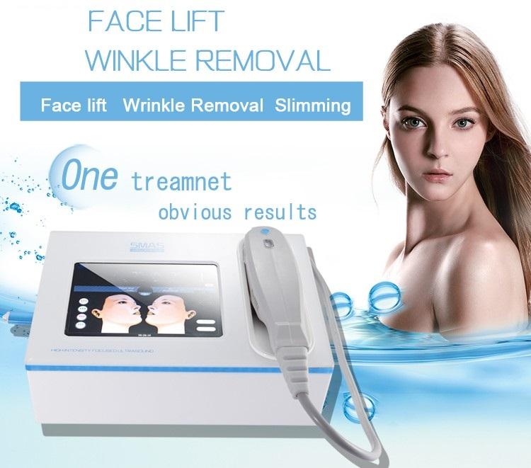 Portable Mini Cost-effective Technology 2D 3D Hifu focused ultrasound Machine For Wrinkle removal