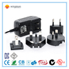 12v 1.25a 15w dc interchangeable power supply/variable dc power supply
