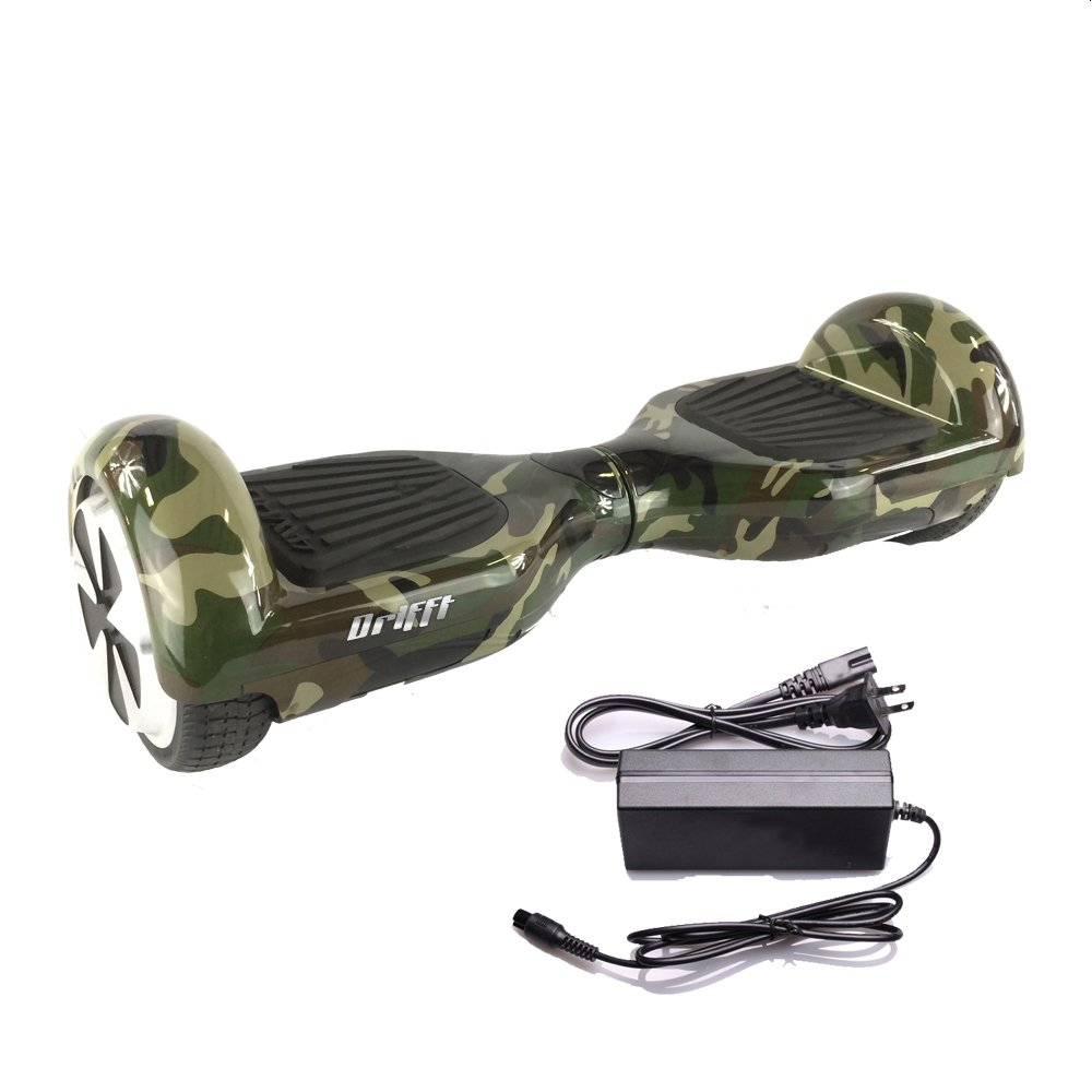 "Camouflage Hoverboard 6.5"" UL 2272 Certified - Electric Self-Balancing Scooter"
