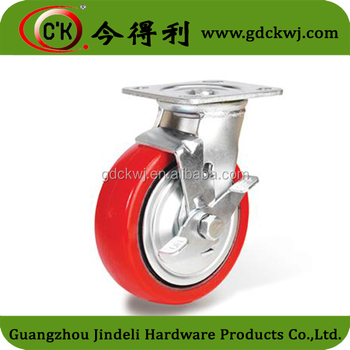 Wholesale Nylon Iron Removable Furniture Caster Heavy Duty Caster Wheels  For Sale