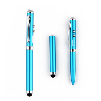 Jiangxin aluminum stylus pen with led and laser