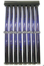 U Pipe vacuum tube solar collector