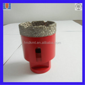 1/2'' connection diamond crown drill bit segment core drill bit/tube