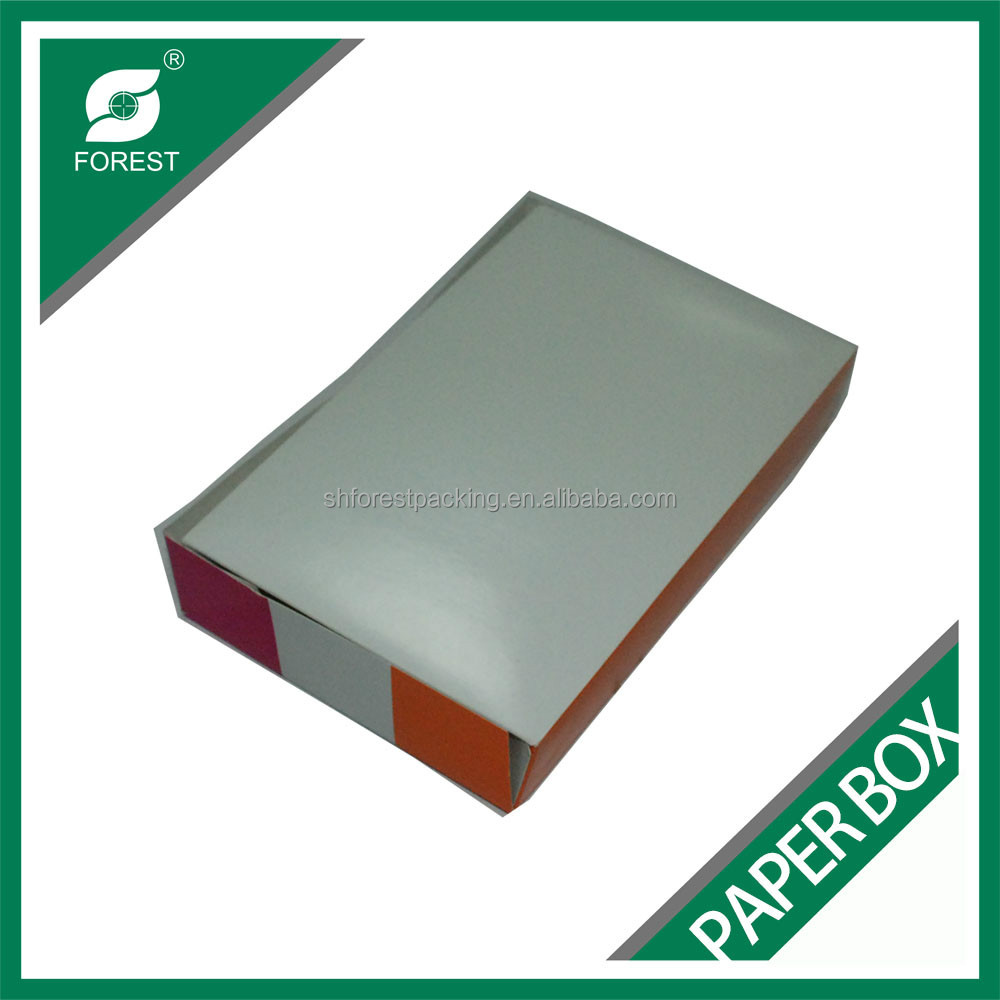 HIGH QUALITY FOOD GRADE DONUT BOX COATED PAPER BOX FOR DONUT PACKAGING WHOLESALE
