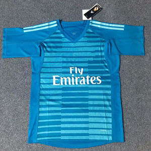 Wholesale top quality Sublimation Custom Real jersey goalkeeper soccer shirts football kits jersey