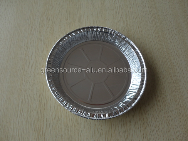 Pollution-free Round Aluminium Foil Pie Dish