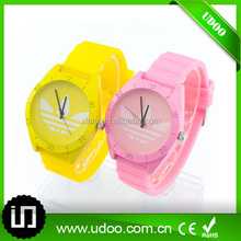 Fashion silicone wristband watch,silicon watch