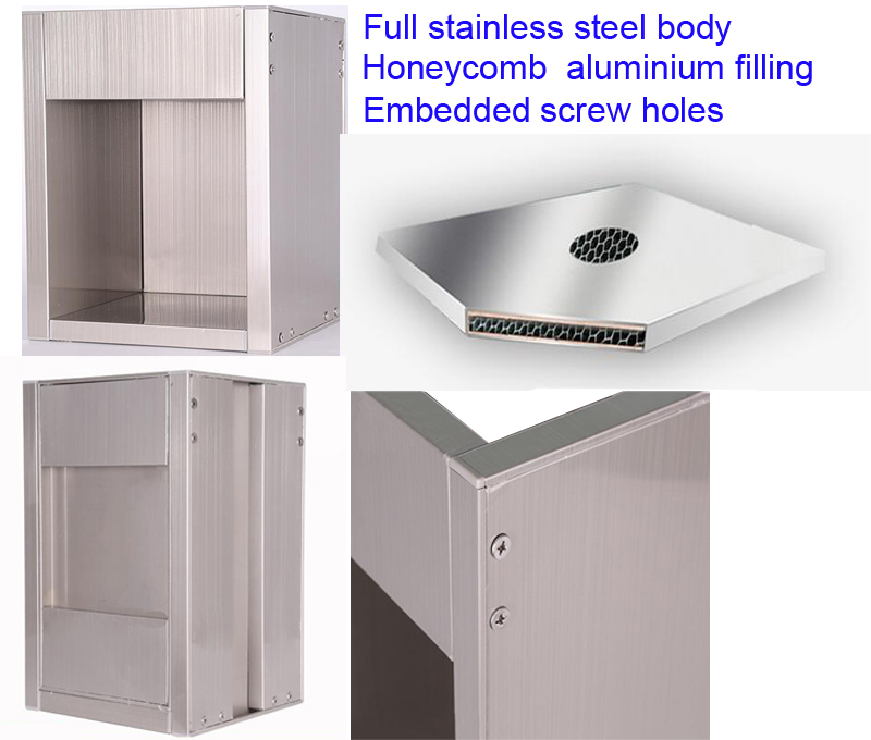 China made high quality RTA ready to assemble stainless steel modular kitchen cabinets