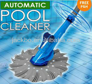 Hot sale suction type automatic pool cleaner with hose for above ground pool and in-ground pool
