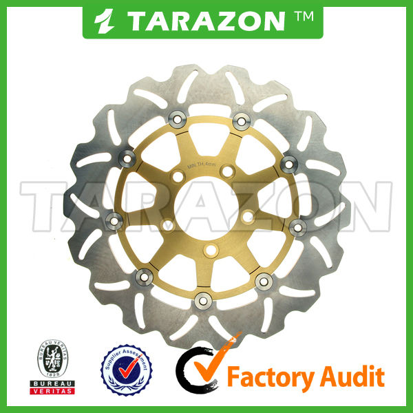 wave floating brake disc rotor for Suzuki DL V-STROM (WVBS/e4/0412) 1000CC