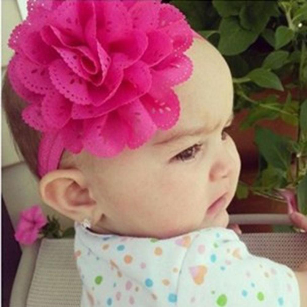 Kids Girls Baby Toddler Infant Flower Headband Headwea Hair Bow Band Accessories