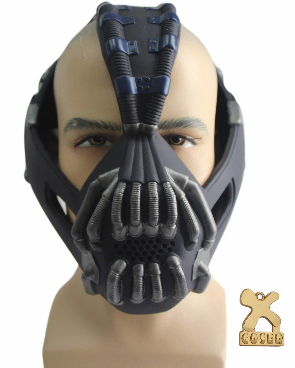 Get Quotations · 2347 NEW Hot Movie Batman The Dark Knight Rises Bane Mask Gun Metal Color High level  sc 1 st  Alibaba & Cheap Batman Bane Mask find Batman Bane Mask deals on line at ...
