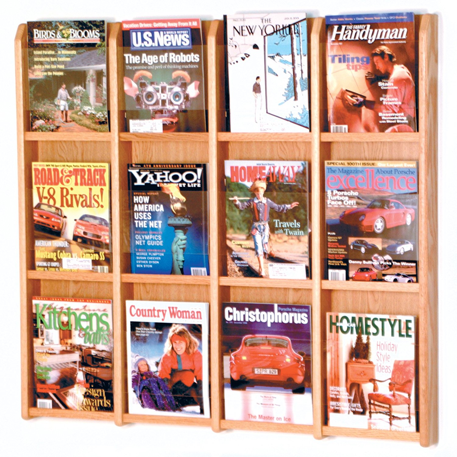 Fixture Display Divulge? 12 Magazine Wall Display 104382