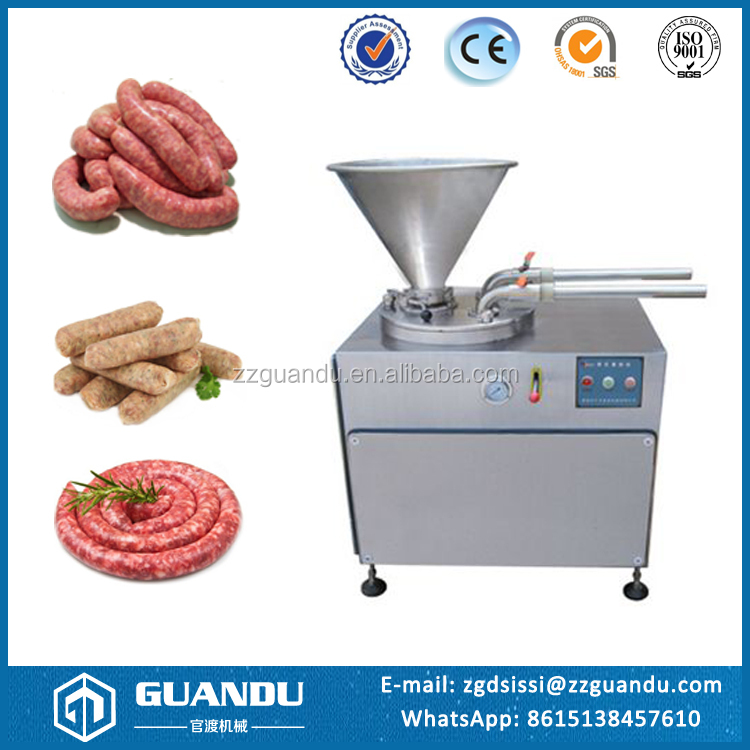 High efficiency automatic sausage making machine / sausage filler