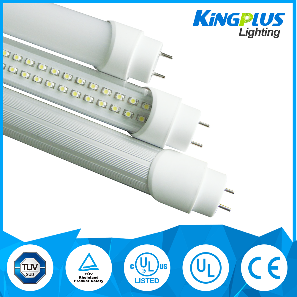 Kingpus 2ft 3ft 4ft 5ft 6ft 9W 18W T5 T8 cheap tube light led tube with CE ROHS