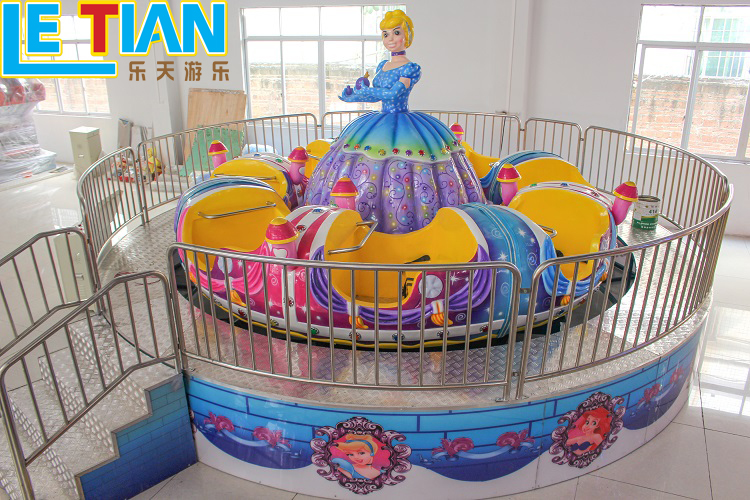 Used Princess Merry go round Kids Rotating and Lifting Rides for sale