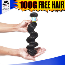BBOSS 5A top quality brazilian hair color 33 cab be dyeable