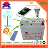 Solar energy storage battery 20ah easy operated
