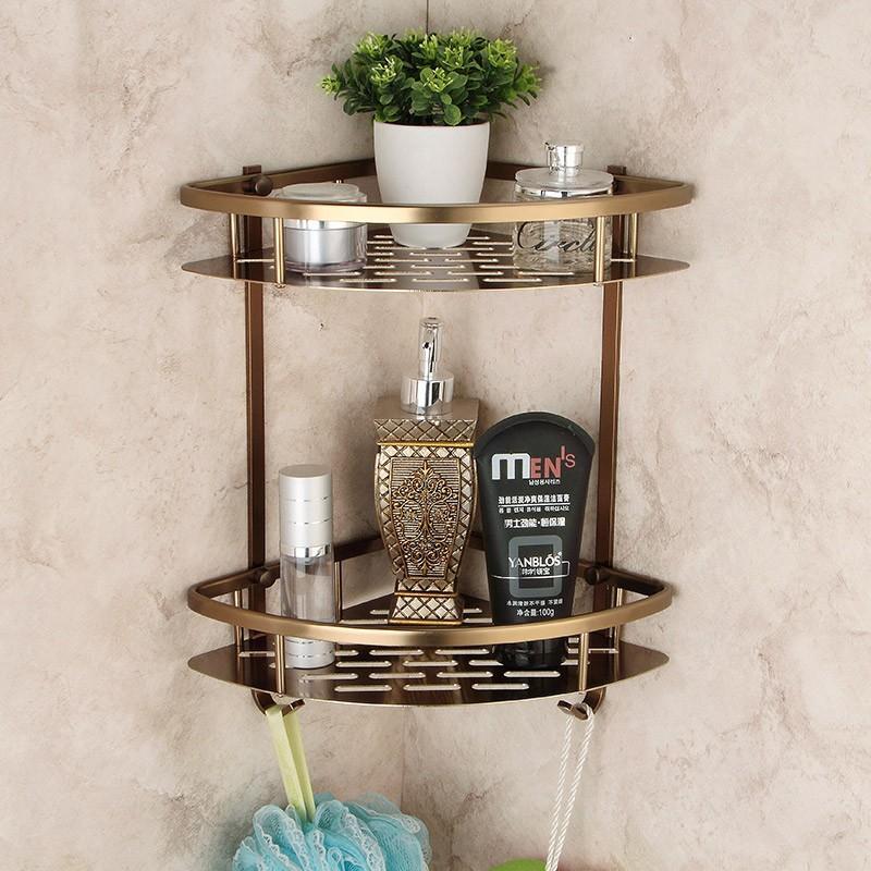 Wall Mounted Antique Bronze Alumimun Bathroom Soap Basket Bath ...