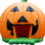 Cheap Colorful Entertainment Funny Pumpkin Adult Bounce House Commercial Halloween Inflatable Haunted House