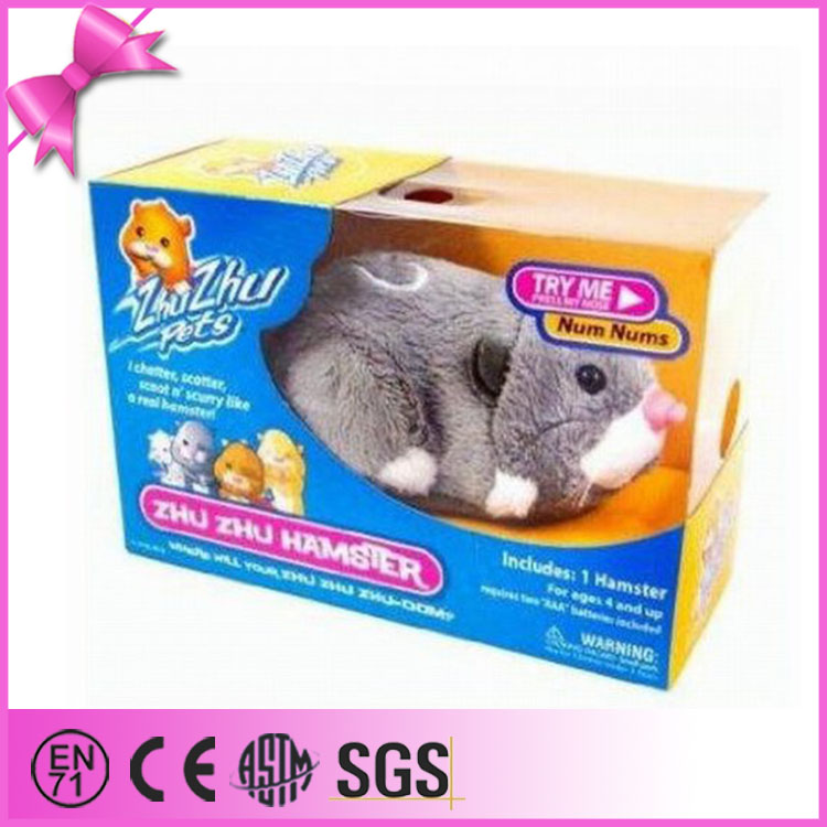 foshan toys factory free shipping plush electric mouse