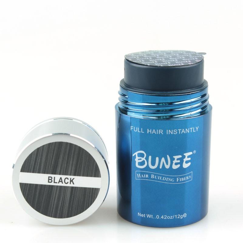 BUNEE Hair Fiber Bulk Custom Logo Natural Keratin Hair Fiber
