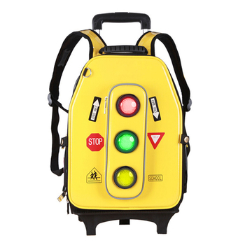aa386df6b6ae Road Safety Traffic Light Up Kids Backpack Bag