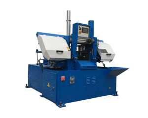 GS280 automatic Double Column Horizontal bandsaw Metal Cutting Angle Cut 45 Degree Band Saw Machine