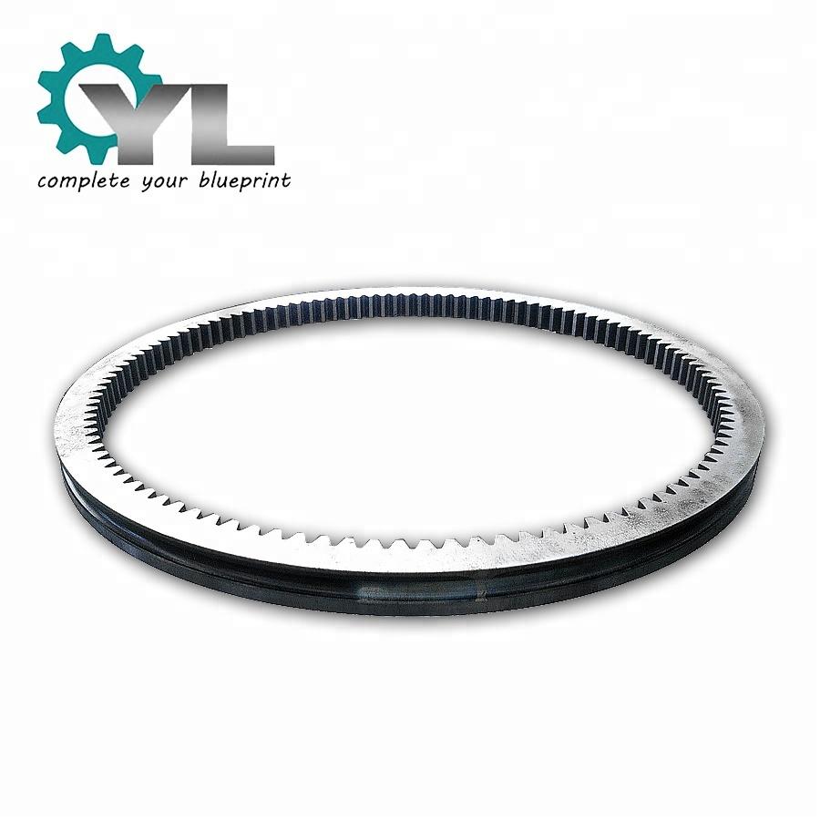Excavator Slew Bearing Internal Gear Ring