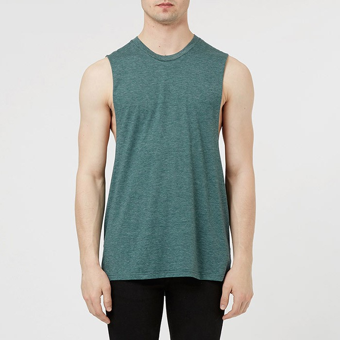 d5aa3af55a6dbd Wholesale Plain Stylish Side Open Tank Tops Men - Buy Tank Tops ...